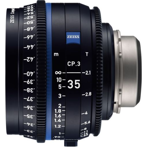 ZEISS CP.3 35mm T2.1 (Nikon F, imperial) - Objectif Prime Cinéma