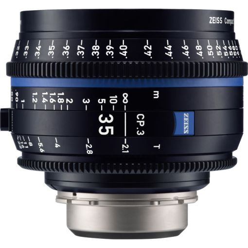 ZEISS CP.3 35mm T2.1 Monture F Métrique - Objectif Prime