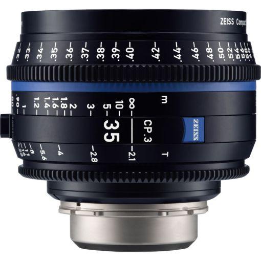 ZEISS CP.3 35mm T2.1 Monture MFT Métrique - Objectif Prime