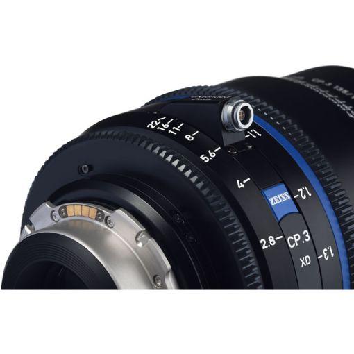 OPTIQUE ZEISS CP3 50mm T2.1 MONT PL IMPERIAL XD