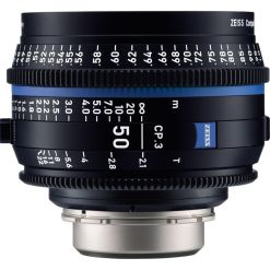 OPTIQUE ZEISS CP3 50mm T2.1 MONT PL METRIQUE