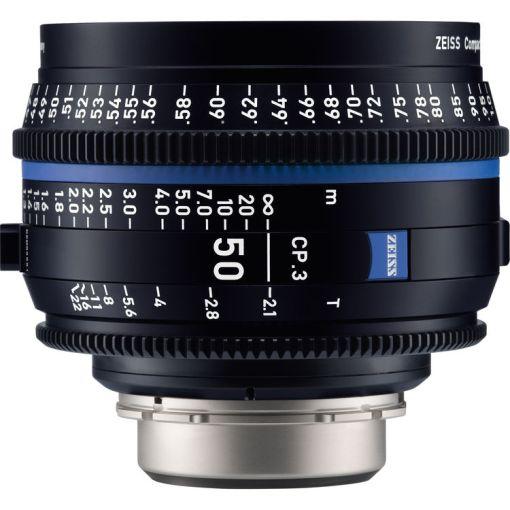 ZEISS CP.3 50mm T2.1 Monture E Métrique - Objectif Prime