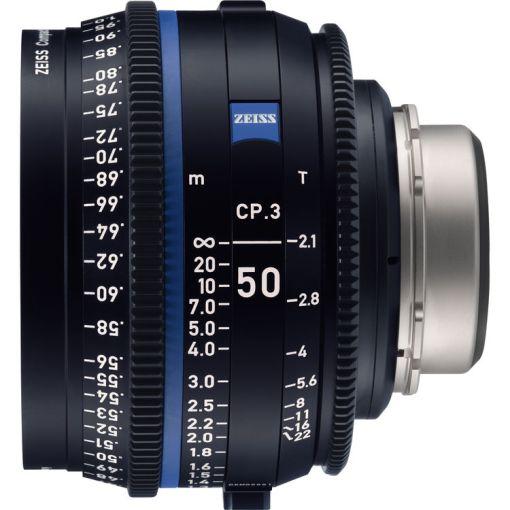 ZEISS CP.3 50mm T2.1 Monture PL Métrique - Objectif Prime