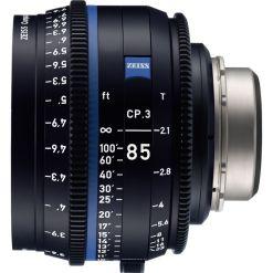 OPTIQUE ZEISS CP3 85mm T2.1 MONT F METRIQUE