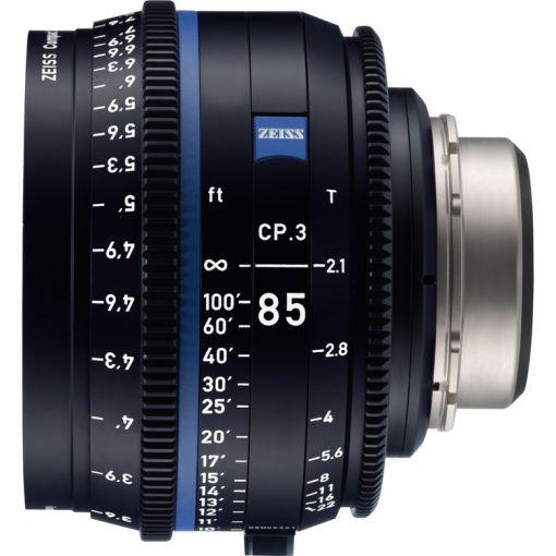 ZEISS CP.3 85mm T2.1 Monture MFT Métrique - Objectif Prime