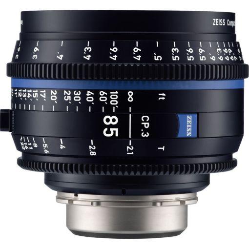 ZEISS CP.3 85mm T2.1 Monture EF Impérial - Objectif Prime