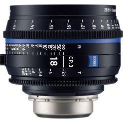 OPTIQUE ZEISS CP3 18mm T2.9 MONT E METRIQUE