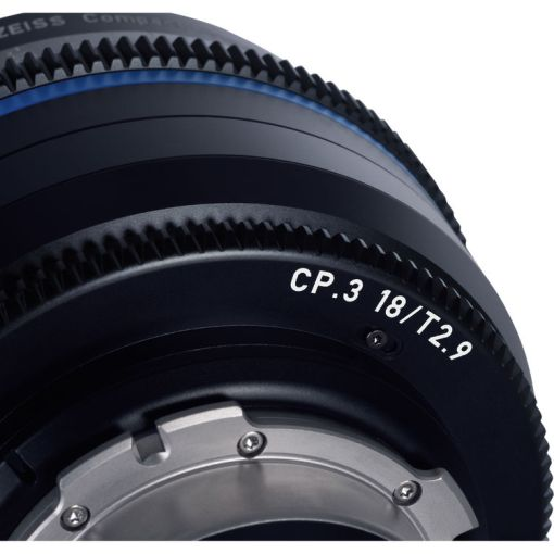 ZEISS CP.3 18mm T2.9 Monture F Impérial - Objectif Prime