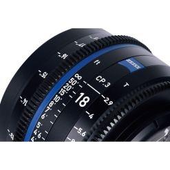 OPTIQUE ZEISS CP3 18mm T2.9 MONT F IMPERIAL