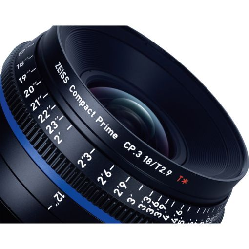 ZEISS CP.3 18mm T2.9 Monture E Métrique - Objectif Prime