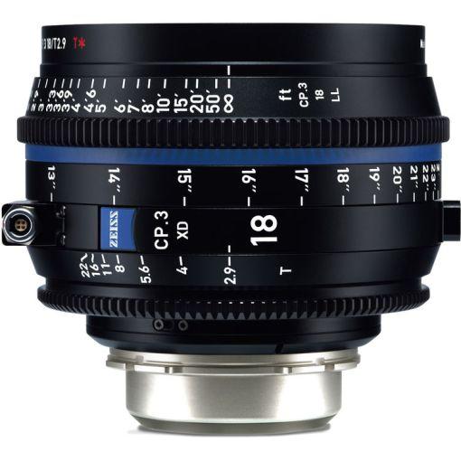ZEISS CP.3 18mm T2.9 (PL, métrique) XD - Objectif Prime Cinéma