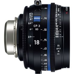 OPTIQUE ZEISS CP3 18mm T2.9 MONT PL IMPERIAL XD eXtended Da
