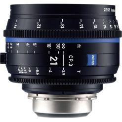 ZEISS CP.3 21mm T2.9 Monture E Métrique - Objectif Prime