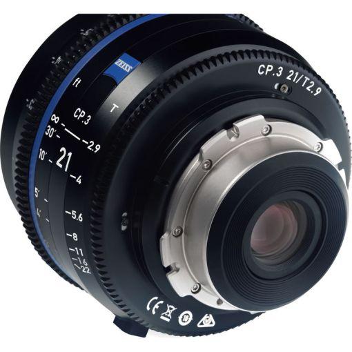 ZEISS CP.3 21mm T2.9 Monture PL Impérial - Objectif Prime