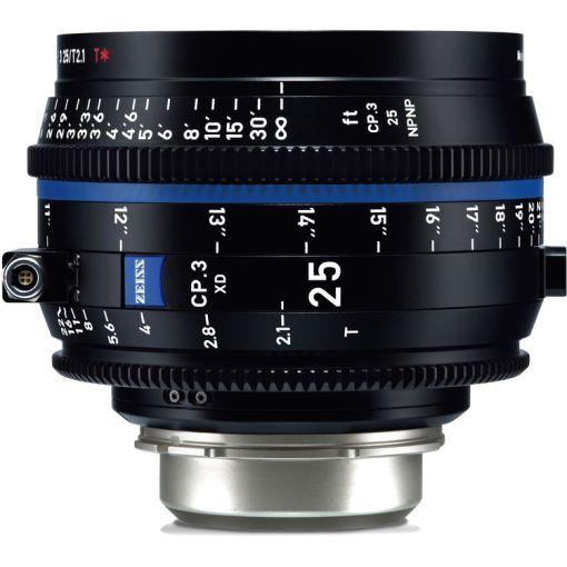 OPTIQUE ZEISS CP3 25mm T2.1 MONT PL METRIQUE XD