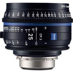 OPTIQUE ZEISS CP3 25mm T2.1 MONT F METRIQUE