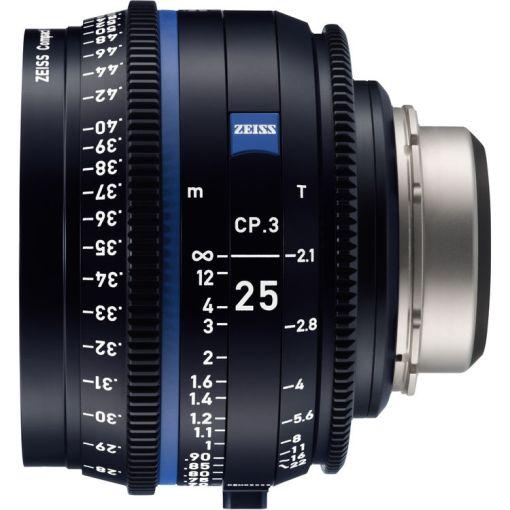ZEISS CP.3 25mm T2.1 Monture E Métrique - Objectif Prime