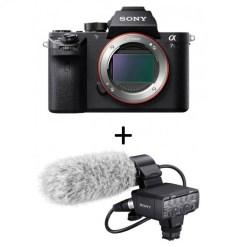 Sony Alpha 7S II + Micro XLR-K2M - Kit Appareil Photo