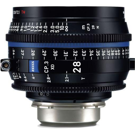 ZEISS CP.3 28mm T2.1 (PL, imperial) XD - Objectif Prime Cinéma