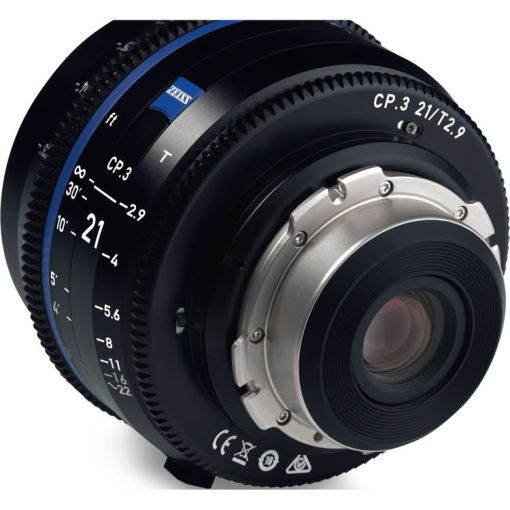 ZEISS CP.3 28mm T2.1 (Canon EF, imperial) - Objectif Prime Cinéma
