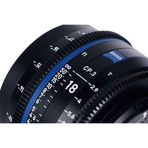 OPTIQUE ZEISS CP3 28mm T2.1 MONT F IMPERIAL