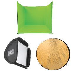 KIT MINI PLUS FLOOD DAYLIGHT 5600K LITEPANELS