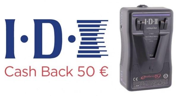 Opération Cash Back sur les batteries IDX E-HL9