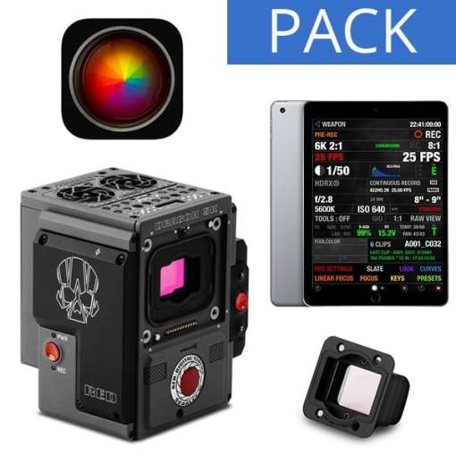 PACK RED SCARLET-W + IPAD APPLE 32 G + FOOL CONTROL
