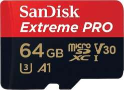 CARTE MICRO SD 64 GO SANDISK EXTREME PRO A1 100 MB/s