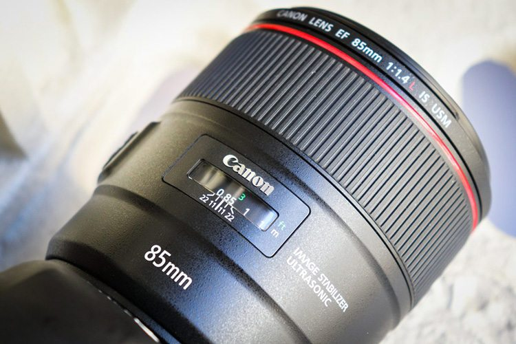 Canon EF 85mm F/1.4L IS USM - Objectif