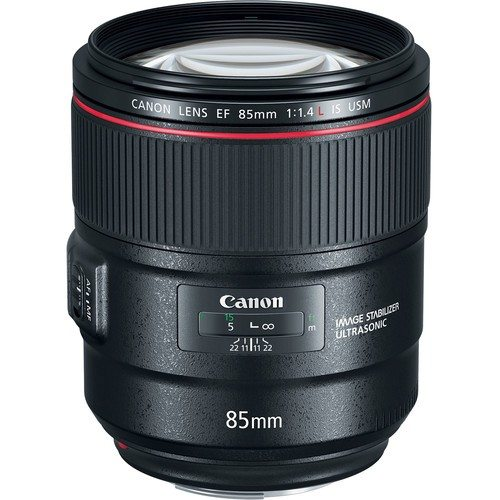 OPTIQUE CANON EF 85mm F/1.4L IS USM