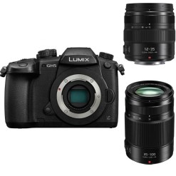 PANASONIC LUMIX DC-GH5 + 12-35mm f/2.8 +35-100mm f/2.8