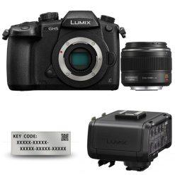 Panasonic Lumix GH5 + 25mm 1.4 Leica + VLog + XLR1E - Kit Appareil Photo et Objectif