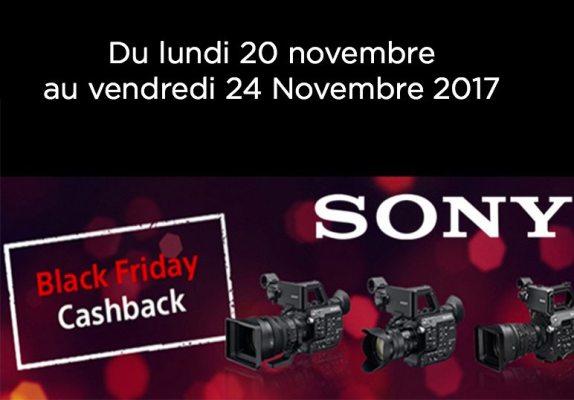 Black Friday Cashback Sony