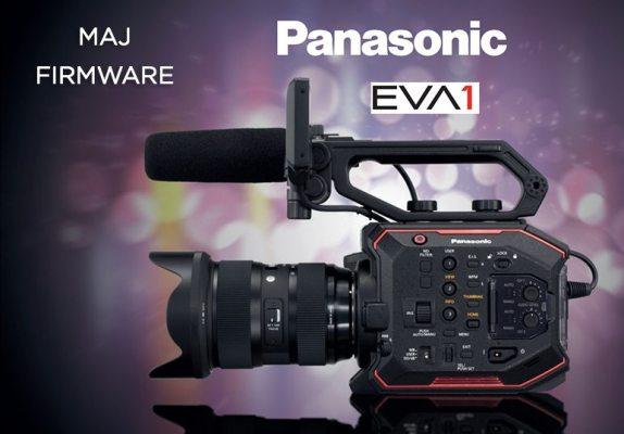 Firmware de la caméra Panasonic AU-EVA1