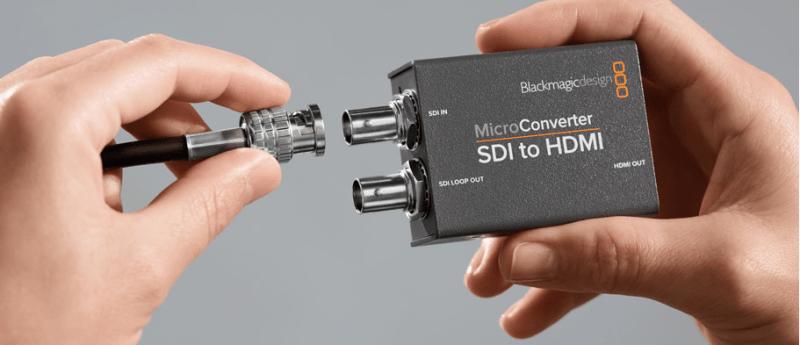 Micro convertisseur soi cdmi blackmagic