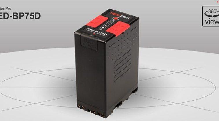 BATTERIE LI-ION TYPE BPU60 14.4V HEDBOX HED-BP75D