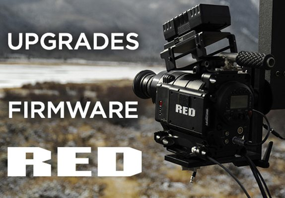 MAJ firmware RED DSMC2 Release Build v7.0.1 et DSMC Release Build v6.3.106