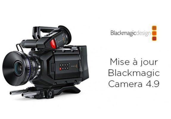 Mise à jour Blackmagic Camera 4.9 pour URSA Mini