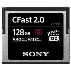 carte Cfast Sony série G 128 giga