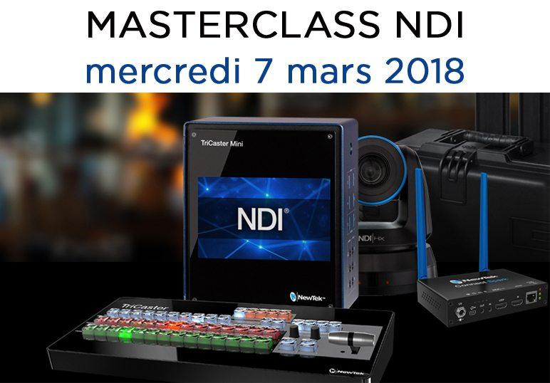 Masterclass NDI 7 mars 2018