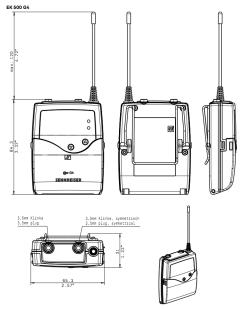 Kit Hf Sennheiser EW 500 Boom G4