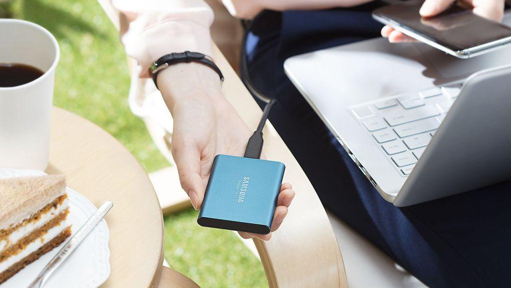 disque samsung T5 SSD