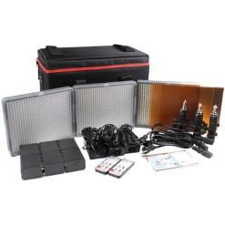 Aputure HR672 SSC - kit 3x panneaux LED