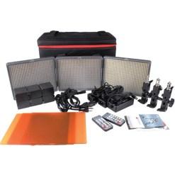 KIT 3x PANNEAUX LED APUTURE HR672 WWS