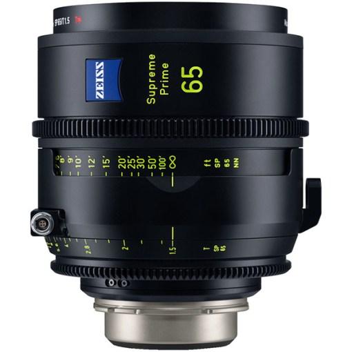 ZEISS Supreme Prime 65mm T1.5 Monture PL Impérial - Objectif Prime