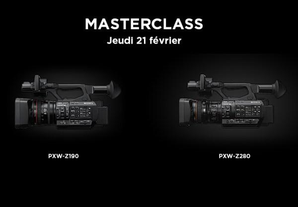 Invitation Masterclass SONY PXW-Z280 & PXW-Z190