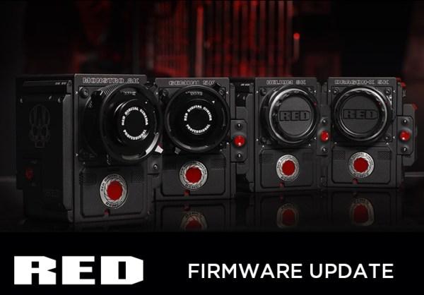 Nouveau firmware bêta RED DSMC2