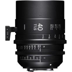 Sigma 40mm T1.5 FF Monture E - Objectif Prime