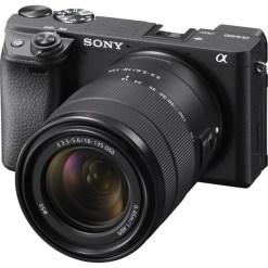 Sony Alpha 6400 + 18-135mm - Kit Appareil Photo et Objectif